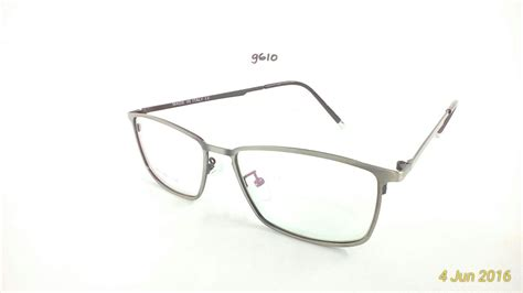 jual frame kacamata baca minus plus silinder stainless steel juragan emban cincin