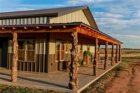 Home » metal homes » why pole barn homes? Rustic Dream - Custom Steel Buildings Photo Gallery ...
