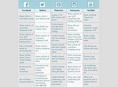 Social Media Excel Calendar 2018 – 2018 Calendar Template