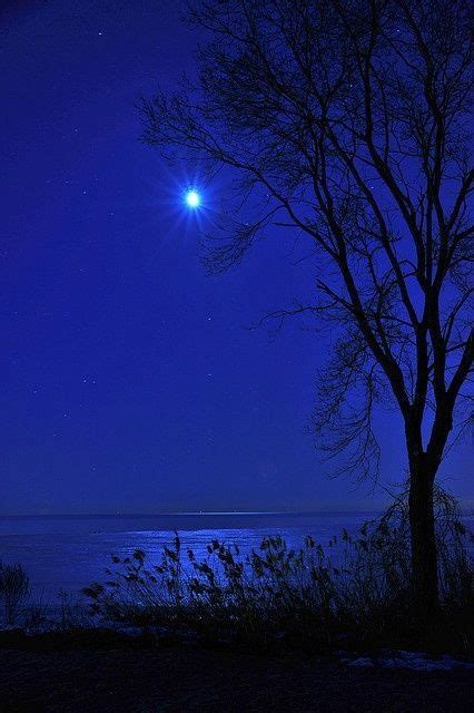chasingrainbowsforever blue moon blue aesthetic