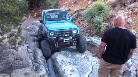 suzuki samurai rock crawler suzuki samurai rock crawling at chili challenge 2012 16