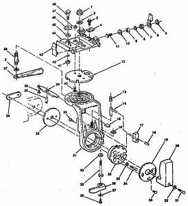 Craftsman Radial Arm Saw Figure 1 Parts