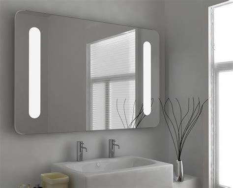 Anti Fog Mirror Bathroom by Led Illuminated Bathroom Mirror Anti Fog Mirror In