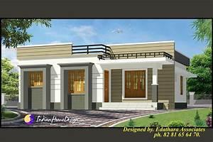 998 Sqft Modern Single Floor Kerala Home Design