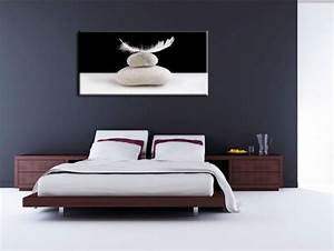 Tableau Deco Chambre : tableau zen pour chambre a coucher visuel 3 ~ Teatrodelosmanantiales.com Idées de Décoration