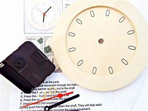 Clock Kit Wooden Clock Diy Clock Round Clock Face 6 Inch