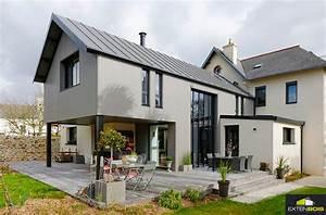extension bois une extension bois pour agrandir votre maison With le plan d une maison 16 agrandissement maison bois extension bois
