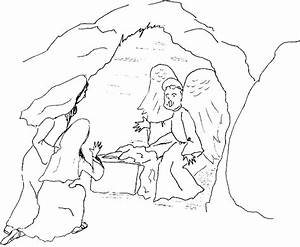 The Empty Tomb - Free Colouring Pages