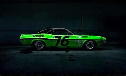 Muscle American Dodge Side Wallpapers Dark Challenger