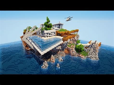 map minecraft maison moderne telecharger minecraft tuto tour moderne 4 4 doovi