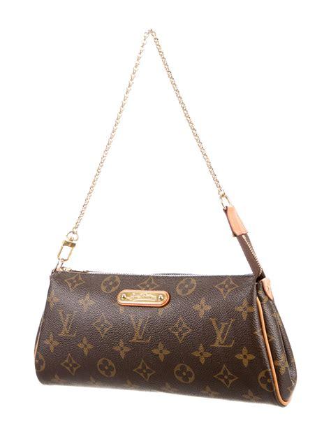 louis vuitton monogram eva pochette handbags lou