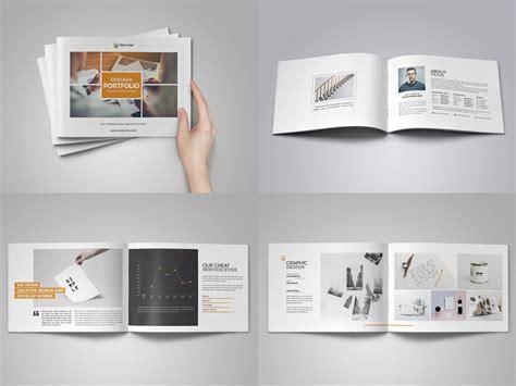portfolio brochure design  jabin hossain  dribbble