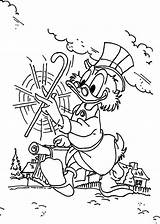 Ducktales Coloring Pages Printable Duck Tales Scrooge Uncle Disney Cartoon Adult Sheets Spinning Money Jolly Mood Books Walking Stick Mickey sketch template