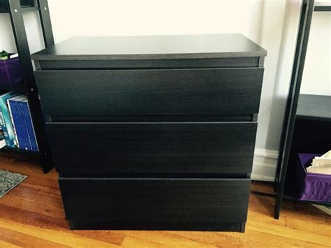Ikea Kullen 3 Drawer Chest, Black-brown (furniture) In Brooklyn, Ny Ikea 9 Drawer Dresser Upcycled Drawers Dividers Uk White 3 Bedside Cabinet Corner Chest Of Glass Pulls Knobs Cube Storage Unit With Organizer Jewelry