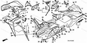 Honda Motorcycle 2007 Oem Parts Diagram For Lower Cowl