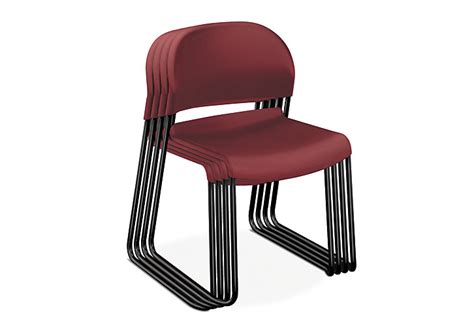 gueststacker high density stacking chair h4031 hon
