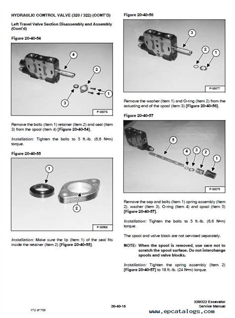 bobcat    series excavator service manuals