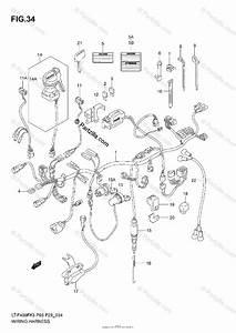 Suzuki Atv 2003 Oem Parts Diagram For Wiring Harness