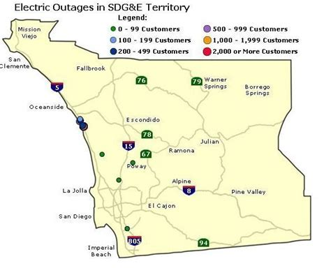 Carlsbad, La Costa Hit By Major Power Outage