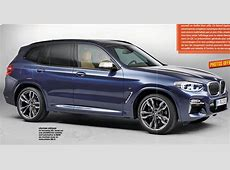 BimmerBoost 2018 BMW X3 M40i design leaks early F97