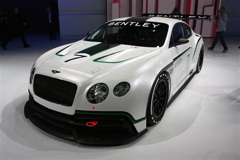 Bentley Car : Bentley Unveils Continental Gt3 Racer [w/video]