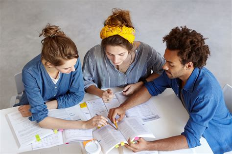 working team hard students university table trying bigstockphoto source information