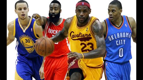 Top 10 NBA MVP Candidates 2014-2015 Season - YouTube