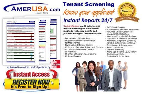 Tenant Credit And Background Check Tenant Credit And Background Checks American Landlord