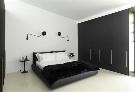 black and white master bedroom 35 timeless black and white bedrooms that know how to 18338 | warehouse black and white bedroom