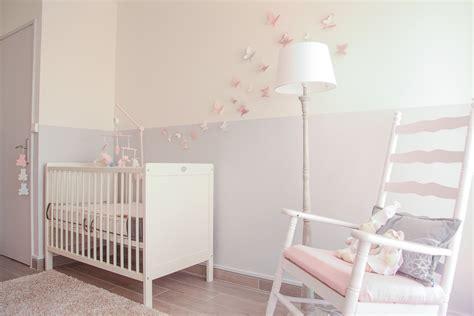 cout peinture chambre des stickers papillon en 3d pour une chambre de bébé du