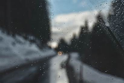 Window Glass Raindrops Wallpapers Rain 4k Rainy