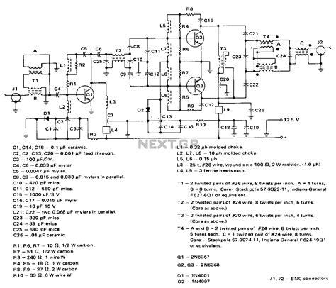 Mhz Amplifier Under Circuits