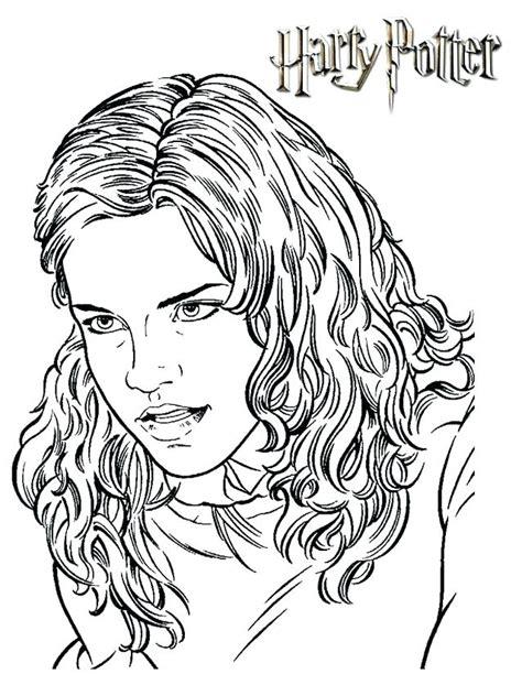 Coloriage Hermione A Imprimer.Coloriage Hermione Granger Imprimer Bondless Www