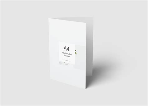 A4 Bifold Brochure Mockup A4 Bifold Brochure Mockup