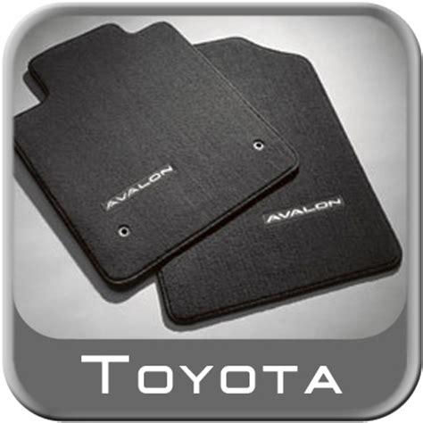 Toyota Avalon Floor Mats 2011 by 2011 2012 Toyota Avalon Carpeted Floor Mats Black