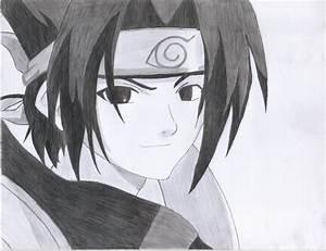 Sasuke Uchiha sketch | Sasuke Uchiha | Pinterest