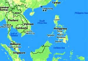 Philippines Island Map Asia