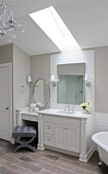 drop    vanity  oval beaded mirror