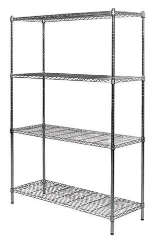 wire shelving menards      work spaces pinterest wire shelving shelving  chrome