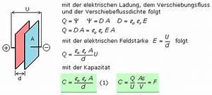 Kondensator Kapazität Berechnen : der kondensator und seine allgemeinen eigenschaften ~ Themetempest.com Abrechnung