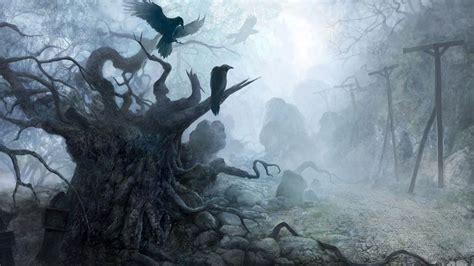 gothic dark art  fantasy places hd picture nr