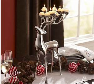 silver plated reindeer candelabra modern candle With kitchen colors with white cabinets with silver reindeer candle holders