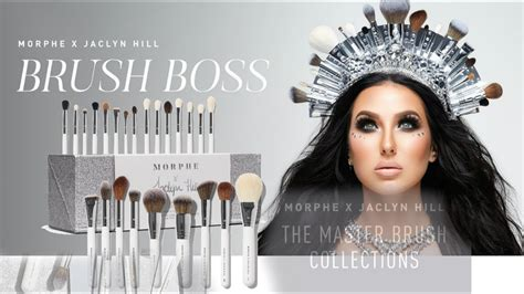 morphe  jaclyn hill master collection brush set review