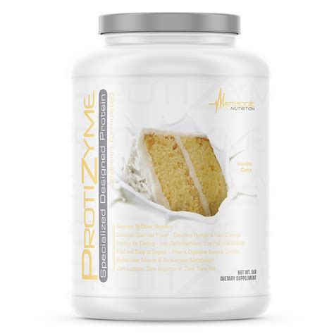 protizyme great tasting designer protein powder