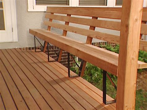 pdf diy built in deck bench seat plans building
