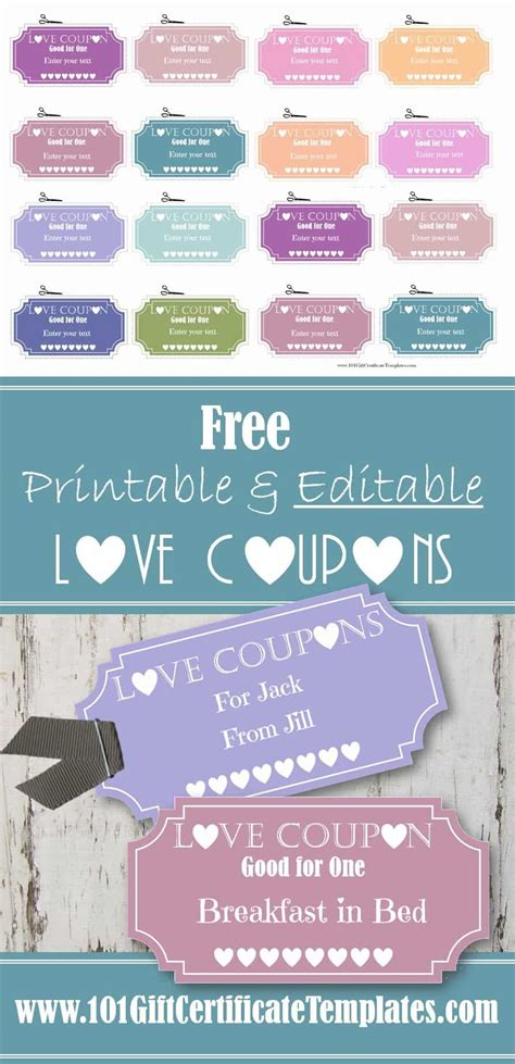 editable love coupons