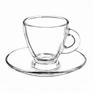 Tasse En Verre : tasse et soucoupe en verre roma maisons du monde ~ Teatrodelosmanantiales.com Idées de Décoration