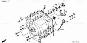 Honda Atv 2004 Oem Parts Diagram For Front Crankcase Cover