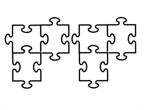 Puzzle Piece Template 19+ Free Psd, Png, Pdf Formats