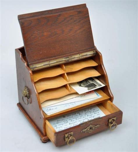 accesoires de bureau antieke bureau accesoires brievenkabinetje postkastje
